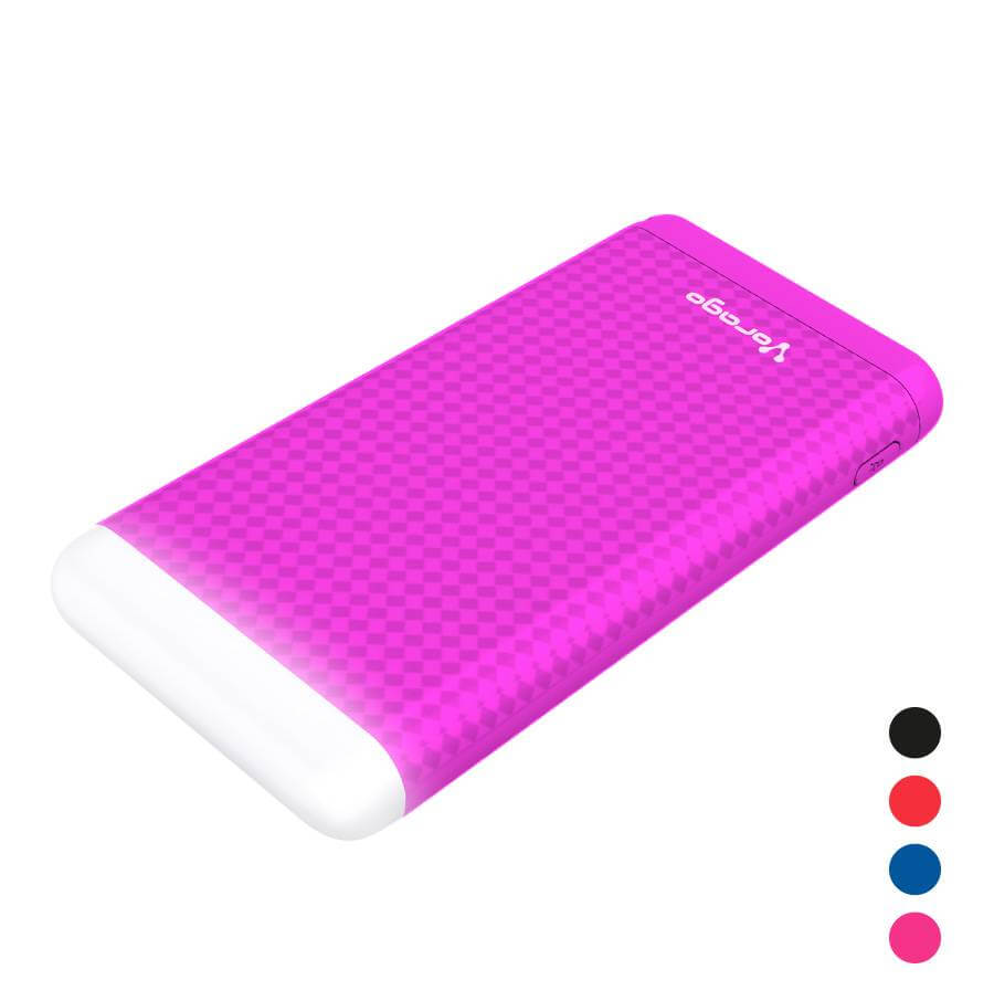 PB-400 Power bank 10,000 mAh USB micro USB LED lámpara