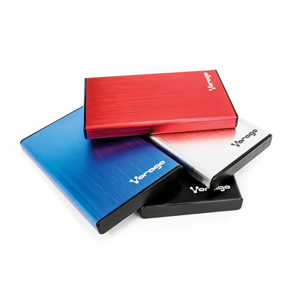 HDD-102 Enclosure para disco 2.5 SATA, USB 2.0 - Vorago -